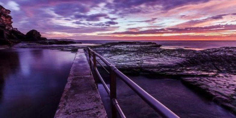 North Curl Curl at sunrise