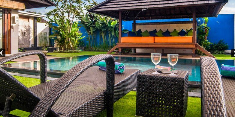 Bali Villa for two people