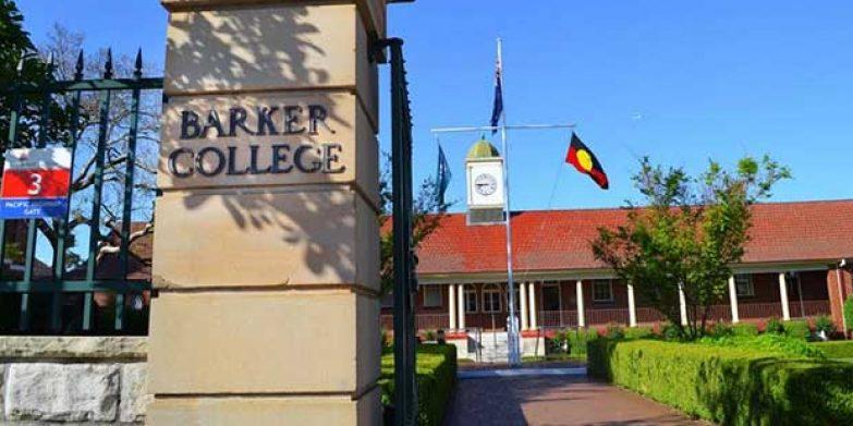 Head of Barker College Mr Phillip Heath