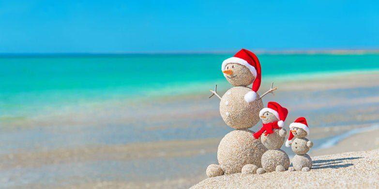 Christmas-Beach-Sandcastles