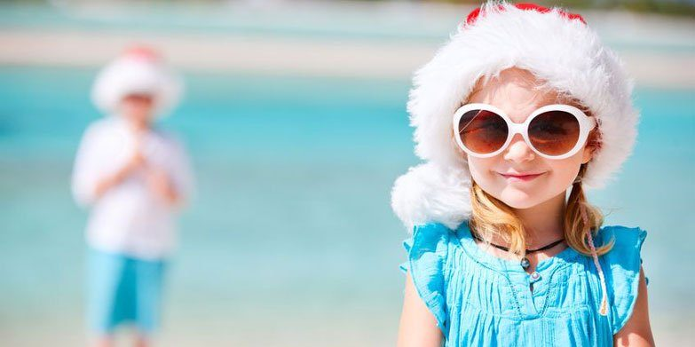 Christmas during summer in Sydney