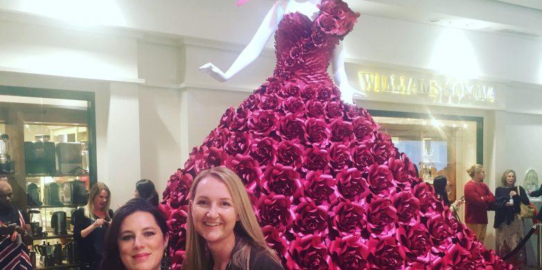 The Red Rose Dress and designer Zoe Bradley