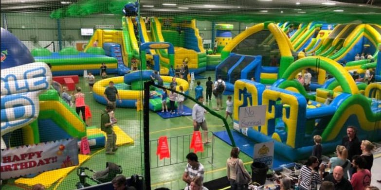 Inflatable World and Action Indoor Sports