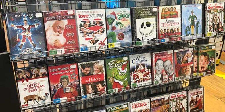 christmas movie DVDs