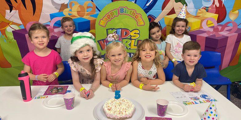 Kids World Birthday Party