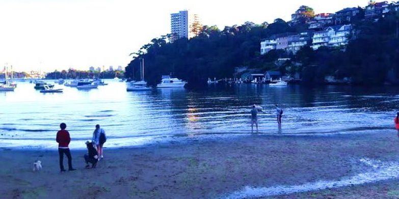 Siriu Cove water view