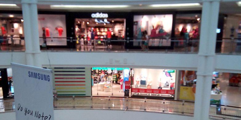 Shopping at KLCC Suria