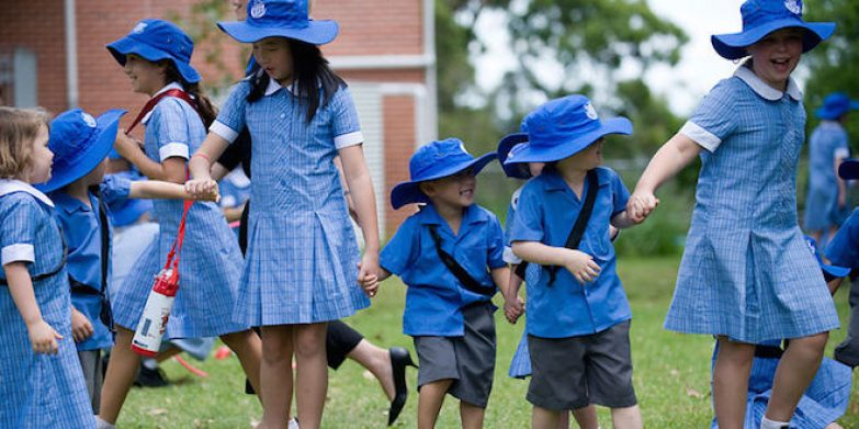Lindfield Public School kids. Photography: DC Images.
