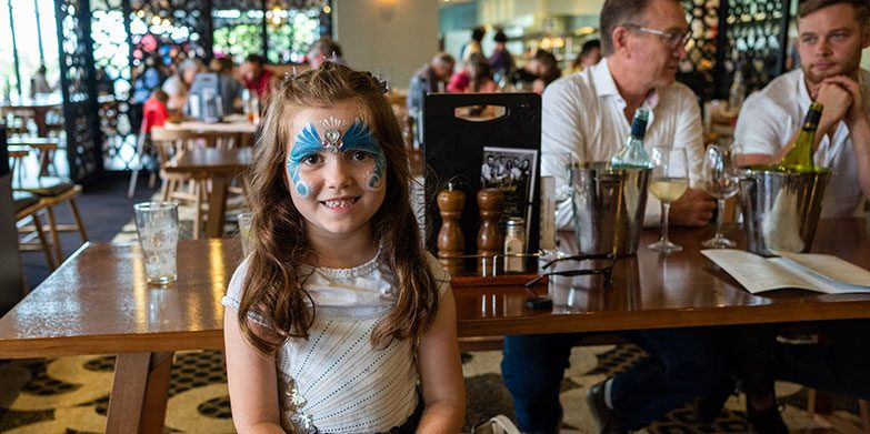 Family friendly restaurant Sydney North